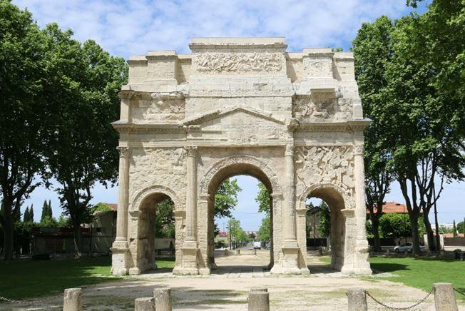 Patrimoine mondial UNESCO, Patrimoine historique et culturel de la ville d'Orange Triumphal Arch