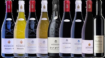 Domaine de Vin, Chateauneuf du Pape, Domaine de Beaurenard, beaurenard